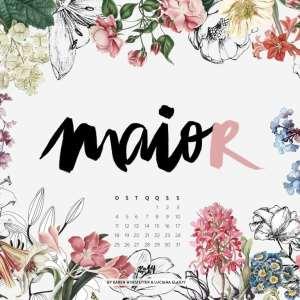 Calendário Sonoro mês de Maio, por Karen Hofstetter