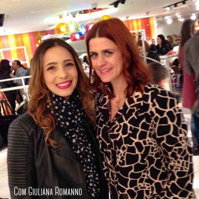 Fe Goncalves e Giuliana Romanno