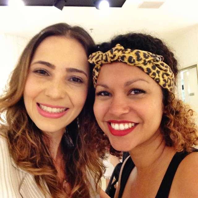 Fe Goncalves e Cinthya Rachel