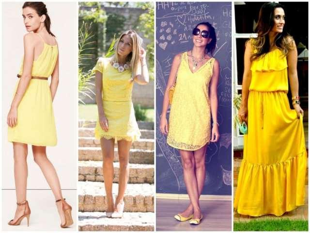Look Amarelo Ano Novo
