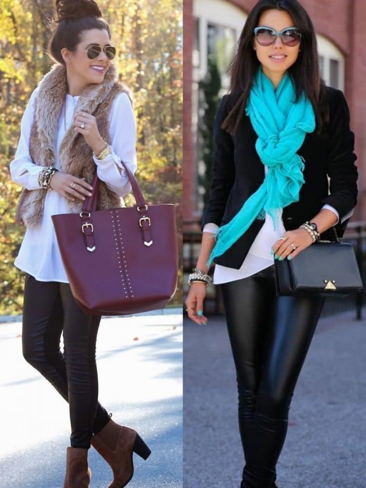 look de inverno com sobreposicao ou blazer