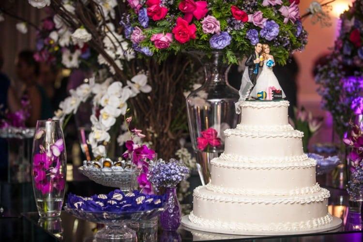 a melhor escolha_decoracao mesa de doces casamento