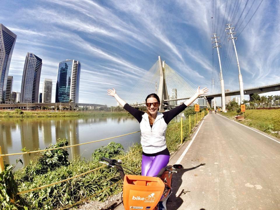 a melhor escolha_Bike Sampa Ponte Estaiada
