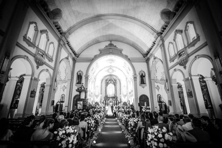 a melhor escolha_decoracao casamento igreja