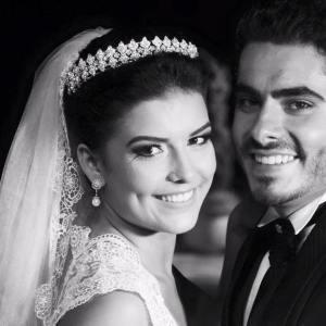 Casamento Mari & Ale: clássico no campo