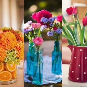 Que tal decorar a sua casa com flores?