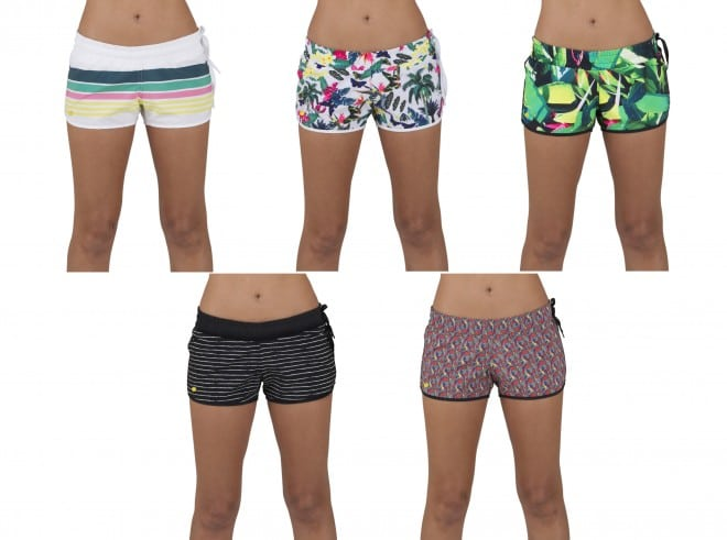 modelos e estampas de shorts para o verao