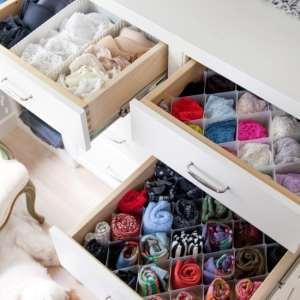 Como organizar lingeries na gaveta