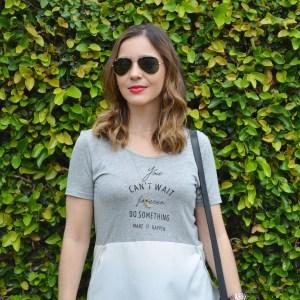 #Verão: Look usando Calça Pantacourt e Camiseta