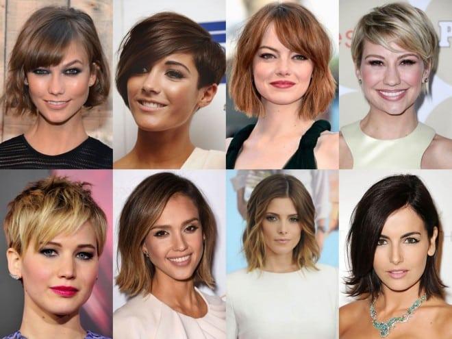 inspirações de cortes e cores de cabelos
