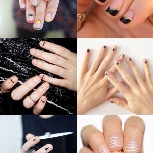 Inspiração: Nail Art Minimalista
