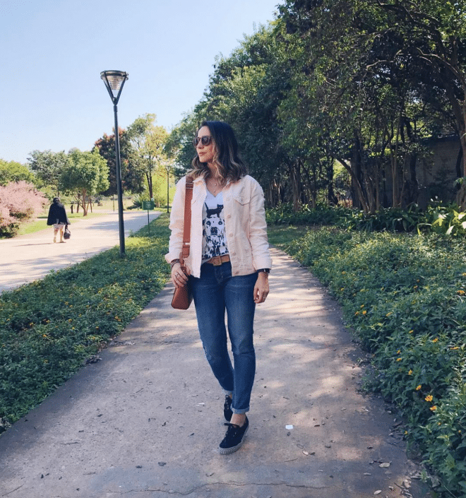 Inspirações de looks básicos de outono e inverno do Instagram de Fê Gonçalves