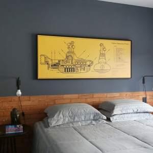 Como combinar cinza e amarelo na decoração da casa