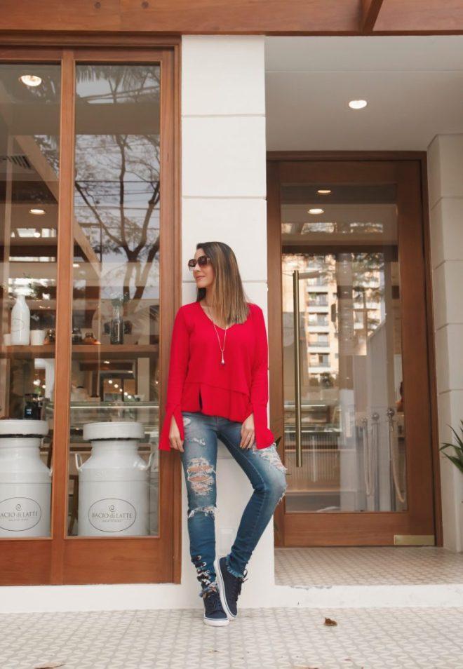 Inspirações de looks e moda casual feminina do Instagram de Fê Gonçalves