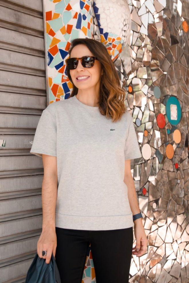 Moda feminina: Look prático e casual usando tênis