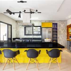 Como escolher todas as tonalidades de cores na decoração da sua cozinha