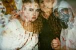 Halloween double exposure