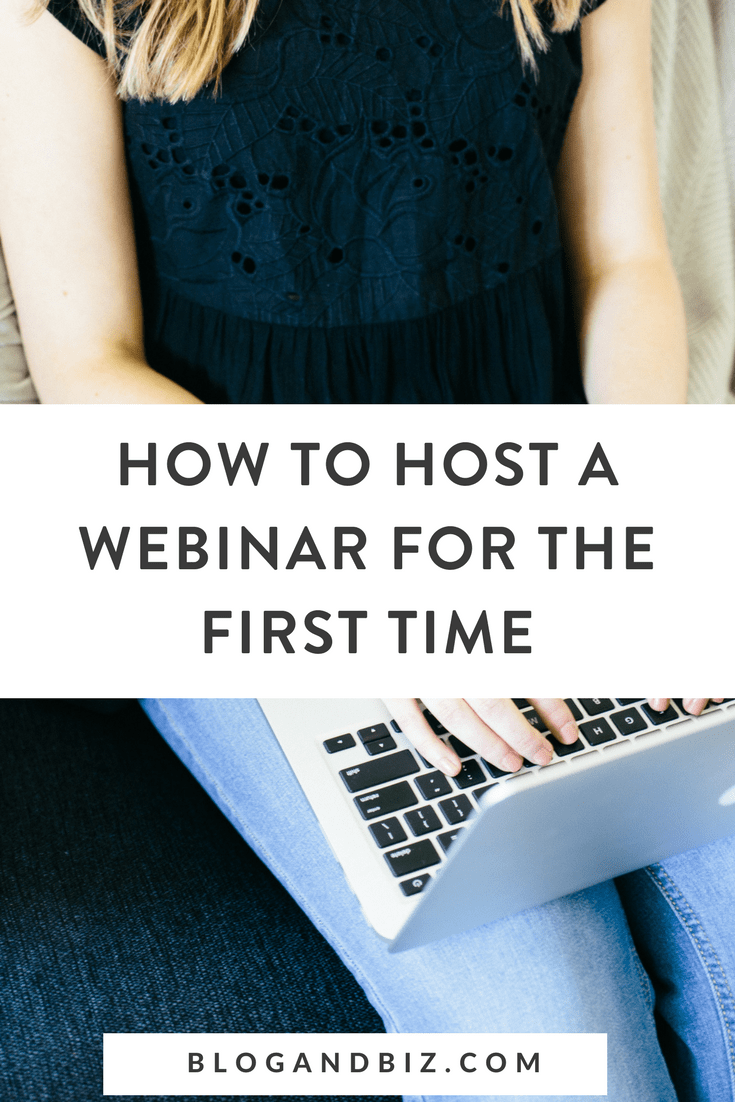 How to Host a Webinar For the First Time! Learn how to host a webinar for your blog. It'll grow your email list and help you sell your courses. Click to read how! #webinar, #webinartips, #blog, #blogger, #blogging, #blogtips