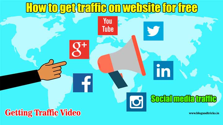 how-to-get-traffic-on-website-for-free