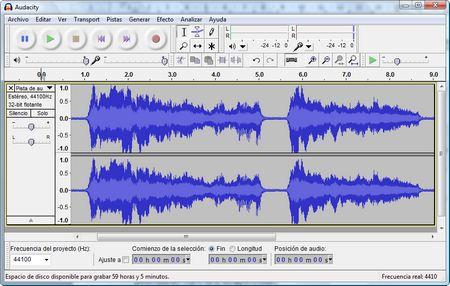 Audacity, un editor de audio libre de gran calidad