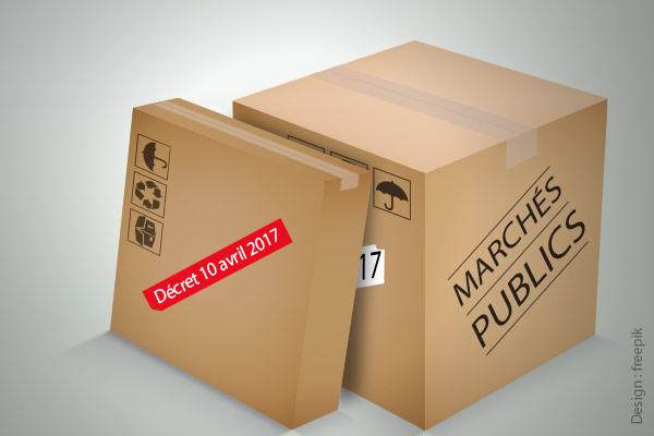 décret marchés publics 10 avril 2017