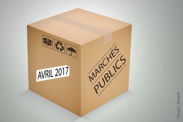 Code des marchés publics avril 2017