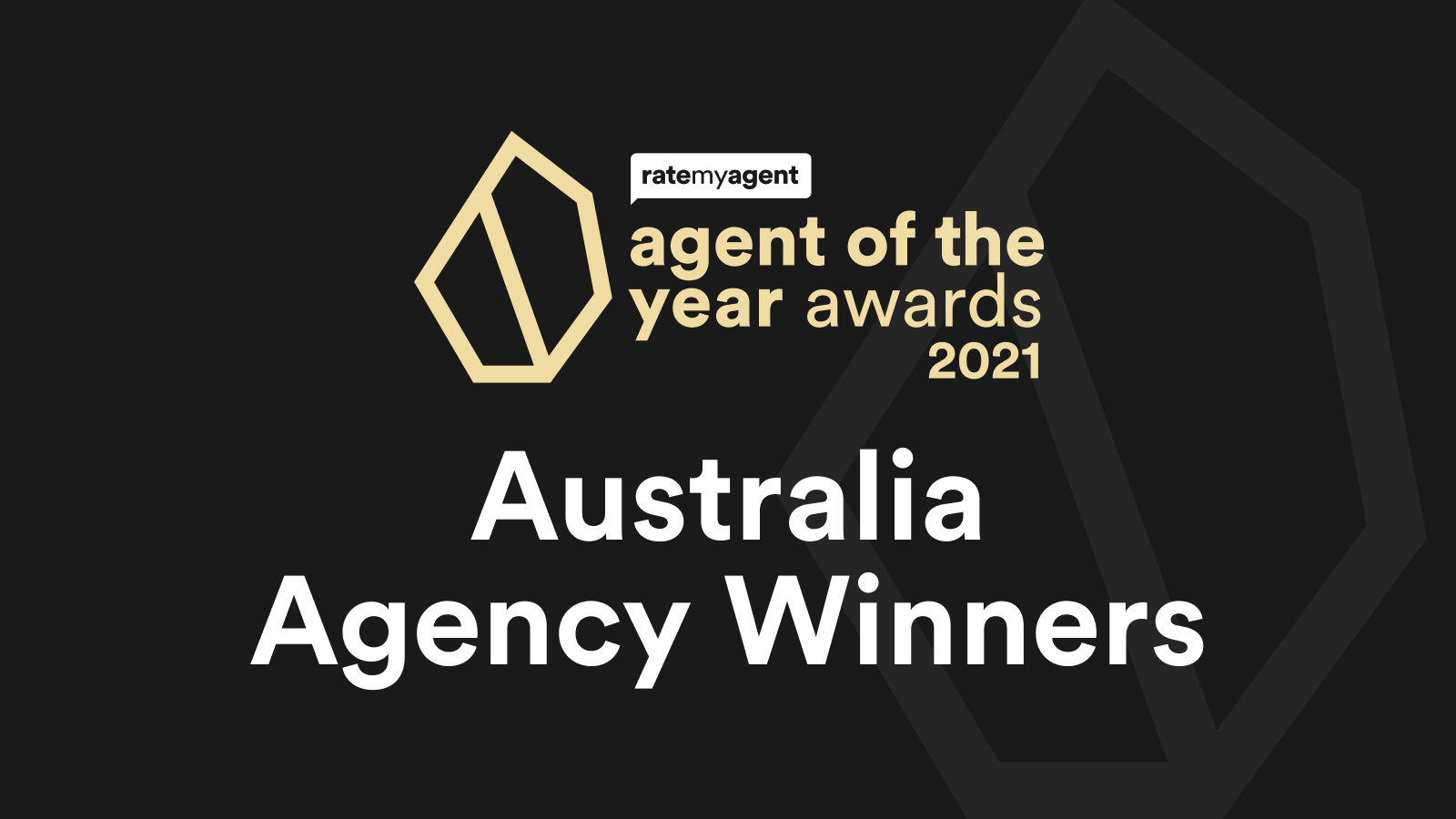 2021 Agency of the Year Winners – National awards
