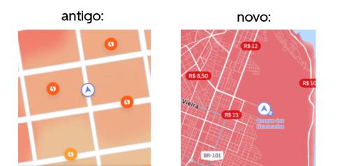 Novo dinâmica da Uber