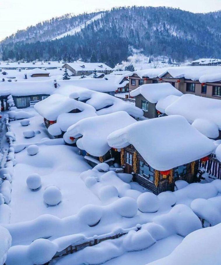 Kar Yagisi Sonrasi Medyana Gelen Ilginc Resimler 12