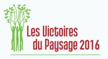 Concours les Victoires du Paysage, organisé par Val'Hor.