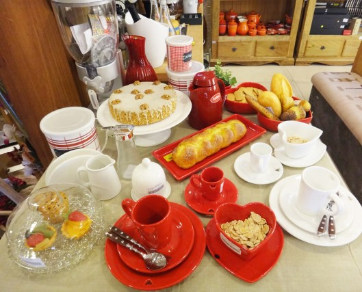 Sugesto de mesa caf da manh  Fornari