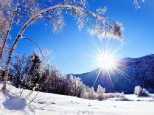 soleil neige