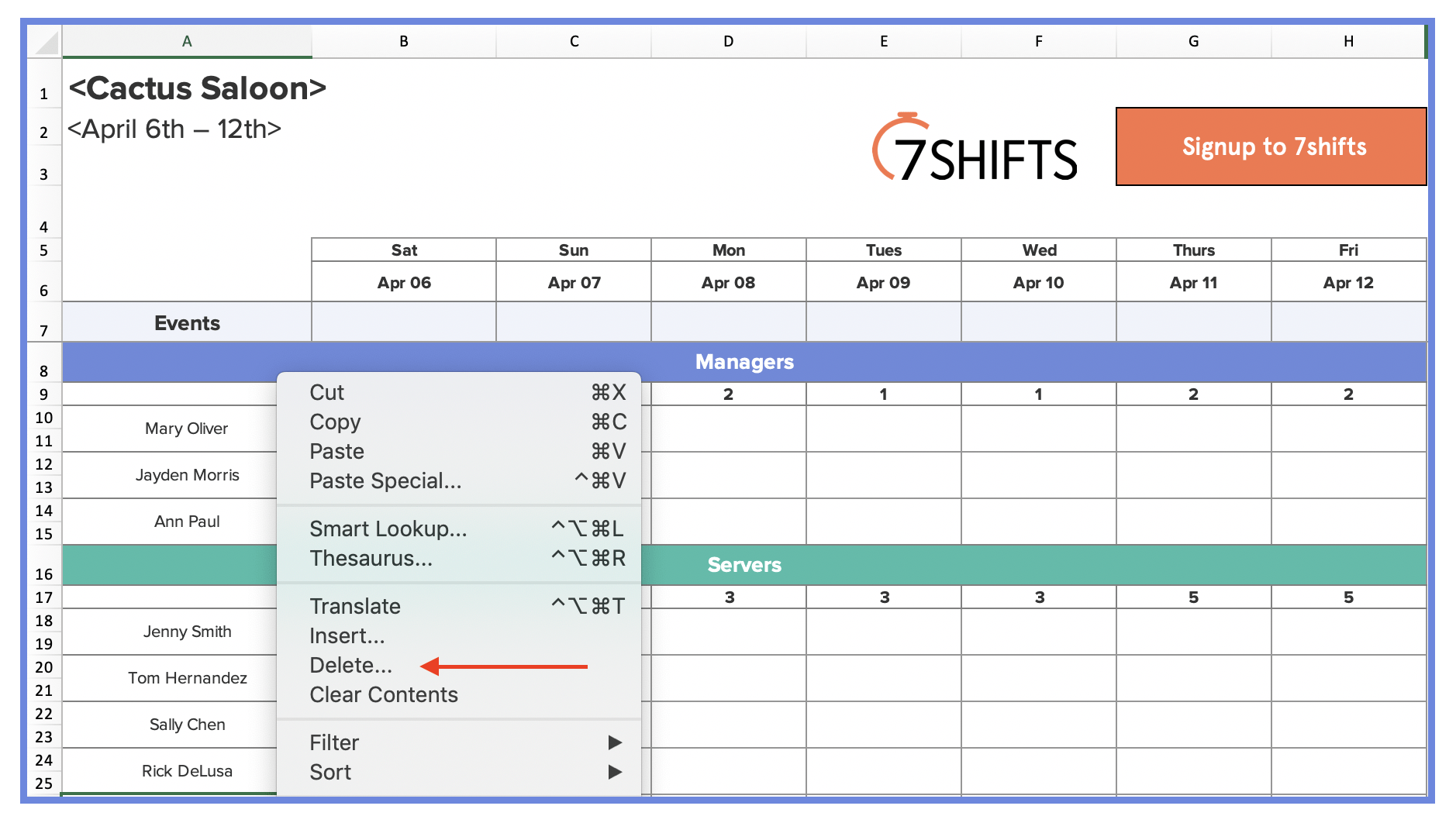 27/02/2020· the restaurant schedule template at the bottom of the article includes head chef, sous chef, line cooks, prep cooks, and dishwashers. How To Make A Restaurant Work Schedule With Free Excel Template 7shifts
