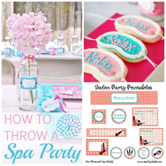 Earth Day Party Ideas How To Throw A Spa Party And How