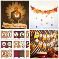 Thanksgiving Wall Decor | Catch My Party