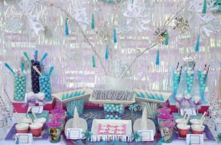 candy bar reine des neiges