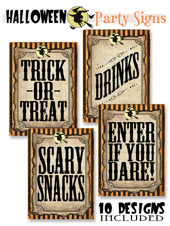 Halloween Party Printables Roundup Catch My Party