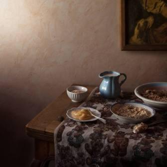 écrire repas et nourriture - table