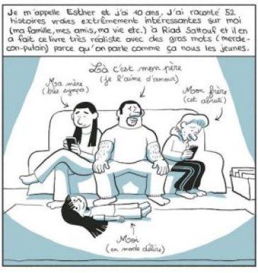 Riad Sattouf - les carnets d'Esther