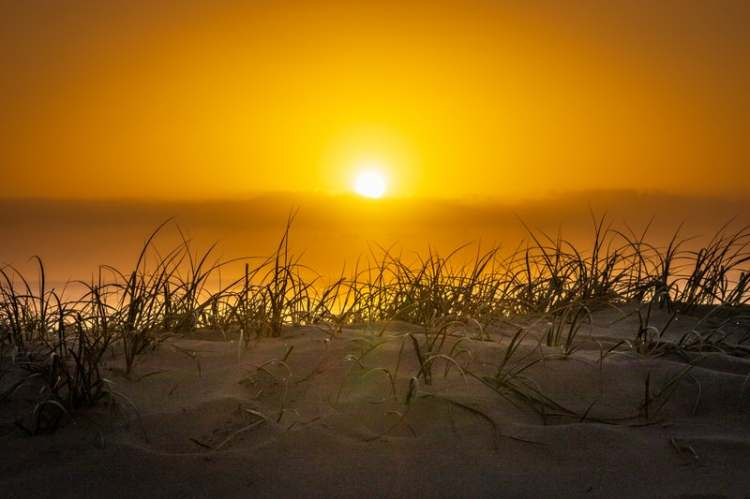 ENFIN SEUL ! - coucher de soleil