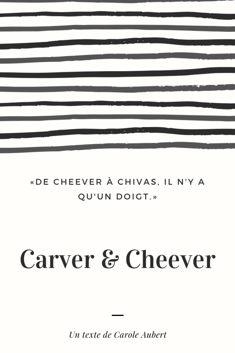 Carver & Cheever  - blog image