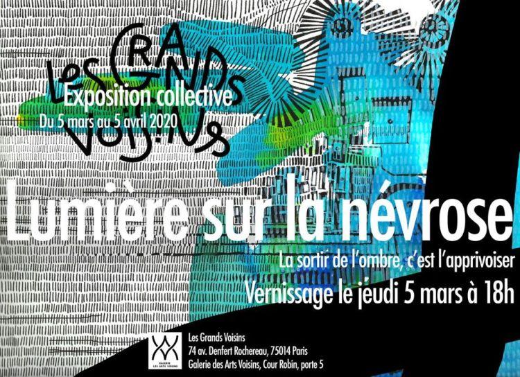 Lumière sur la névrose [Exposition collective] - affiche