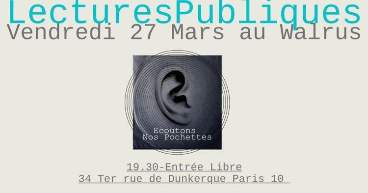 Lectures publiques - Écoutons nos pochettes