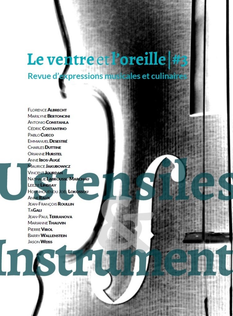 Le Ventre et l'Oreille  - couverture #3