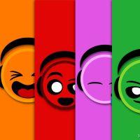 Oque me faz Feliz ... vivendo um mundo de cores.