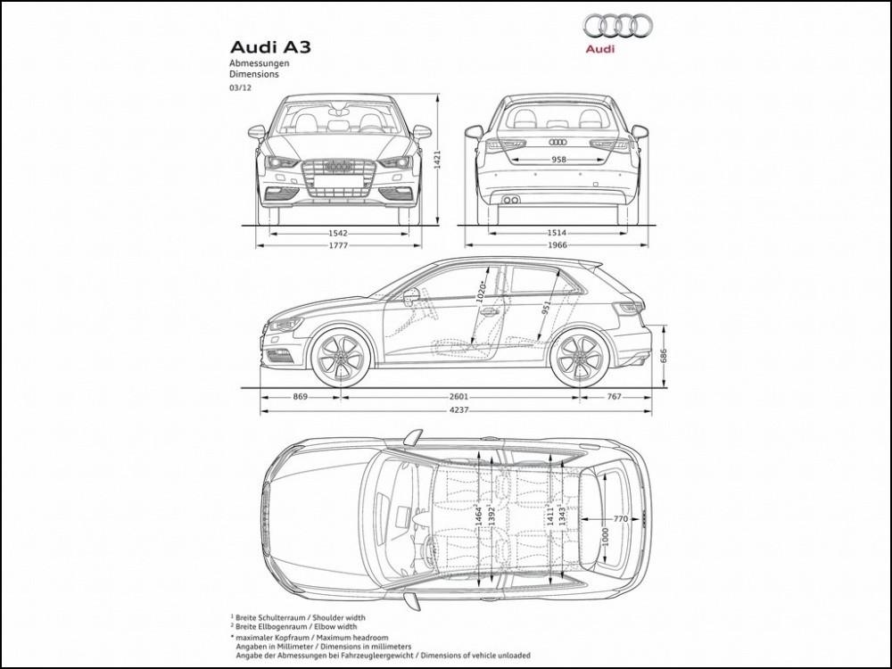 Audi A3 2012 : Nouvelle mais presque pareille (galerie