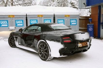 Aston Martin Vanquish Volante Tests Hiver 2013 (6)