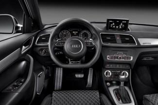 Le tableau de bord de l'Audi RSQ3