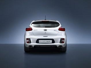 Kia pro_ceed GT rear view