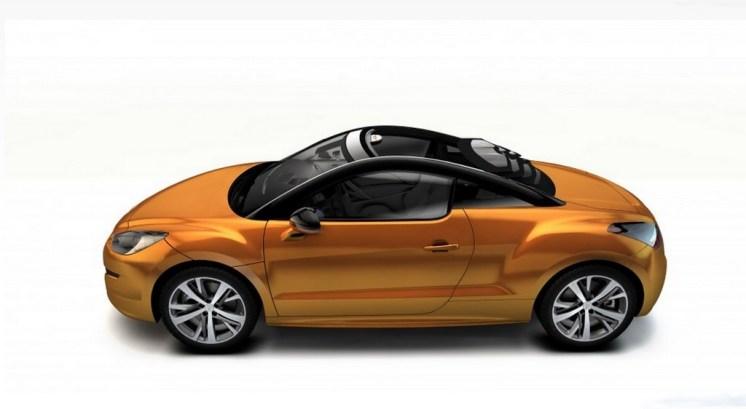 rcz top view concept by magna steyr le cabrio selon peugeot blog automobile. Black Bedroom Furniture Sets. Home Design Ideas